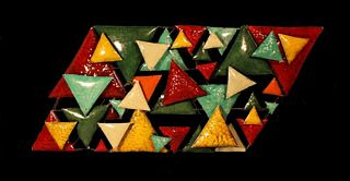 Abstrait triangles