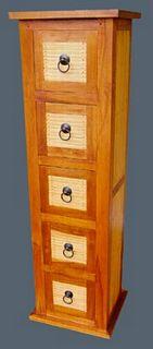 Armoire à cd 5 tiroirs
