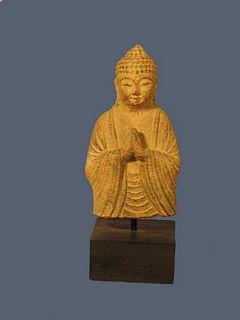 Buste de Bouddha en prière S
