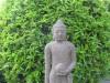 Bouddha en pierre de lave sculptée thumb