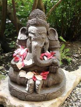 Ganesh et ses offrandes