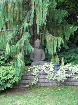 Bouddha au sapin