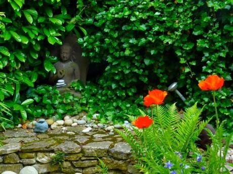 Bouddha merveilleusement intégré